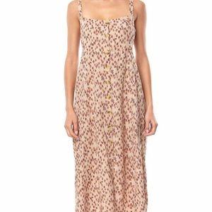 "O""Neill Bettie Floral Maxi Dress Medium New"